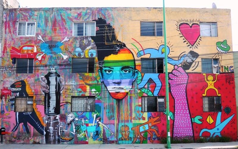 Du Muralisme Mexicain au Street Art