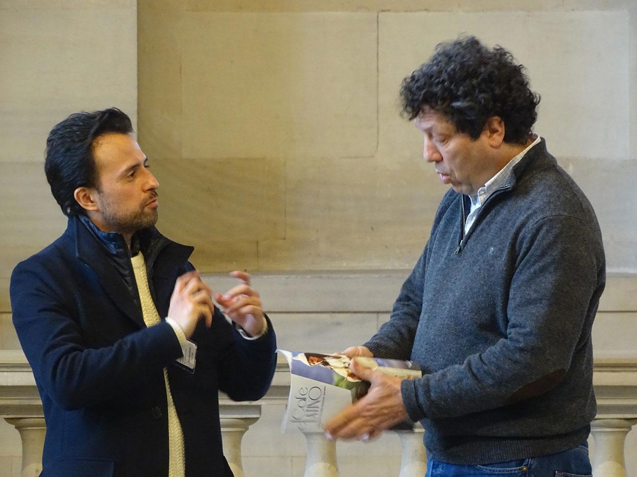 ELIAS CRESPIN au Musée du Louvre éternellement