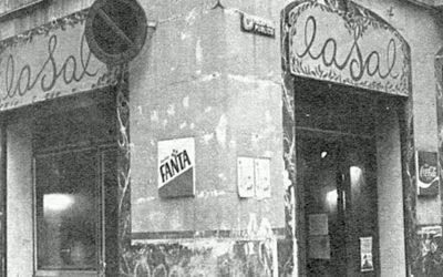 LaSal. Café – Bar de 1977 en Barcelona, sus encuentros artísticos y políticos