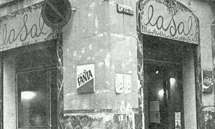 LaSal : Café – Bar de 1977 à Barcelone, ses réunions artistiques et politiques