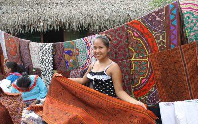 Carta desde una casa de la comunidad Shipibo en la selva amazónica