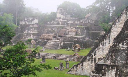 La selva de El Petén recubrió la cultura Maya en Guatemala