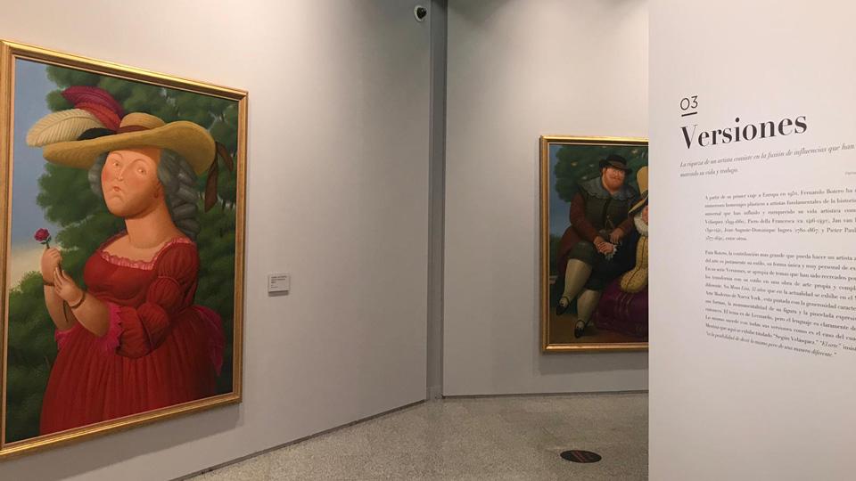 """""""Botero, 60 años de pintura"""""""